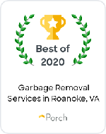Porch Best of 2020 for Garbage Removal in Roanoke,